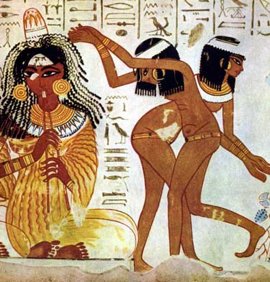 musicians and dancers in ancient Egypt